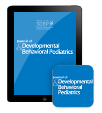 Journal Of Developmental And Behavioral Pediatrics  >> Play Project Research Has Been Published In The October 2014 Edition